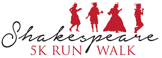 Shakespeare RunWalk Logo