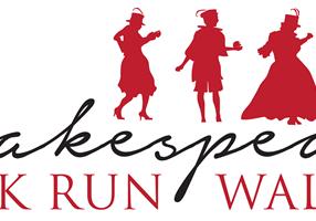 Shakespeare RunWalk Logo
