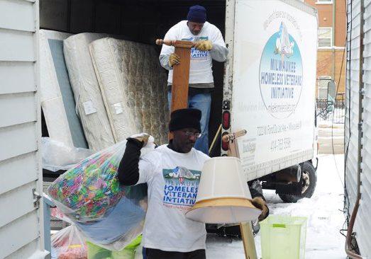 Milwaukee Homeless Veterans Initiative at Work
